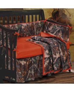 Camo Crib Bed